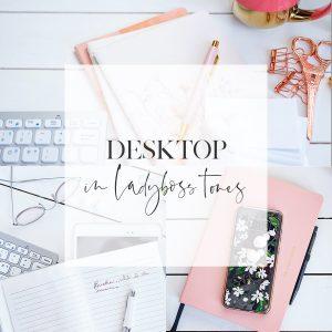 Desktop In Ladyboss tones Cover